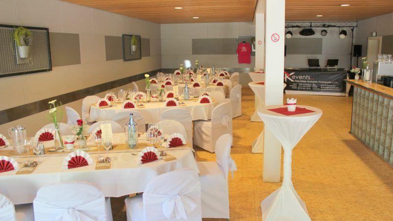 Hochzeiten im Partyraum